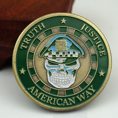 US City of Chicago Police Department St. Michael Commemorative Challenge Coin