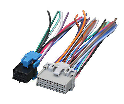 2002-2009 GMC ENVOY Stereo Radio Wiring Harness Interface for ... on s10 wire harness, pt cruiser wire harness, grand am wire harness,