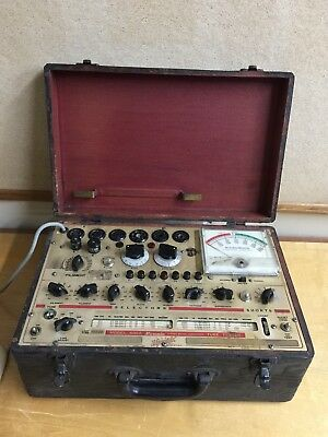 Hickok Model 600A Tube Tester Works Needs Calibration.