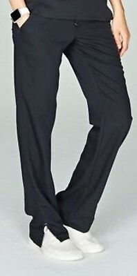 NWT Figs Women Dakar Basic Pant Charcoal Gray Scrubs Bottom Size XXS Petite NEW