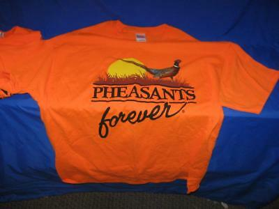 Pair Of Pheasants Forever Tee Shirts - Xl & 2Xl - New, Never Used  - L@@k