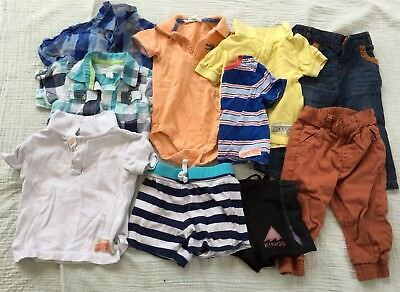 Bulk Lot 0 Baby Toddler Boy Country Road Shirts Polos Pants Pumpkin Patch