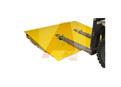 Container Ramp 6500KG 2000x1542 Container Entry Platform with Flip-up pockets
