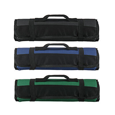 22 Pockets Chef Knife Bag Roll Carry Case Bag Kitchen Portable Durable Storage