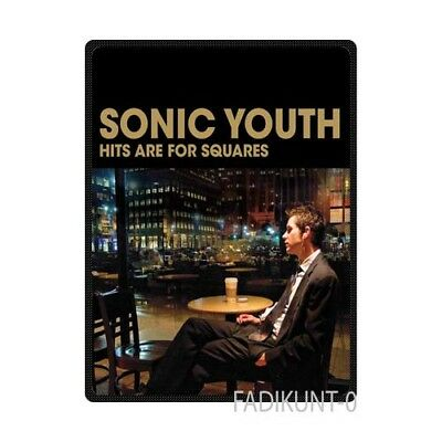 Sonic Youth Hits Are For Squares Custom Soft Fleece Throw Blanket Size Large
