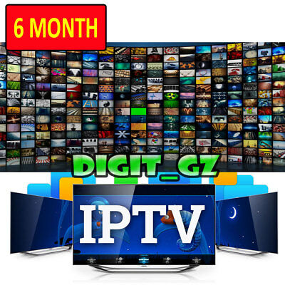 6 Month IPTV International Warranty For MAG OPENBOX V8S ZGEMMA ANDROID SMART TV