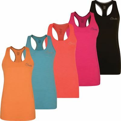 Dare 2B 2018 Pertain Sleeveless Ladies Workout Tank Top Vest