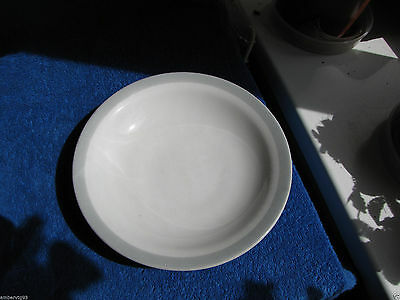 Sweden Rorstrand white plate soup kitchen Rörstrand pottery 1950's 8,26 Inches