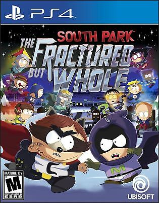 South Park: The Fractured But Whole - Cartoon Comedy Action Adventure PS4 NEW