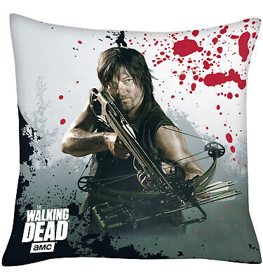 The Walking Dead Kissen Daryl Dixon, 40x40cm (NEU)