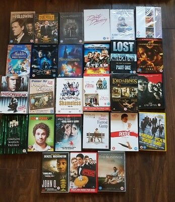 110 DVD Joblot Bundle wholesale carboot boxest disney game of thrones action