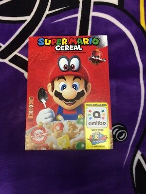 37 BOXES Kellog's SUPER MARIO ODYSSEY CEREAL Limited Edition Nintendo W/ Amiibo