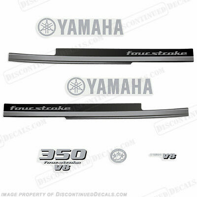 Yamaha 350hp V8 FourStroke Decal Kit - Outboard Engine Decals 300