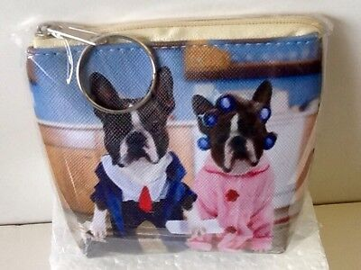 Boston Terrier Funny Coin Purse/wallet