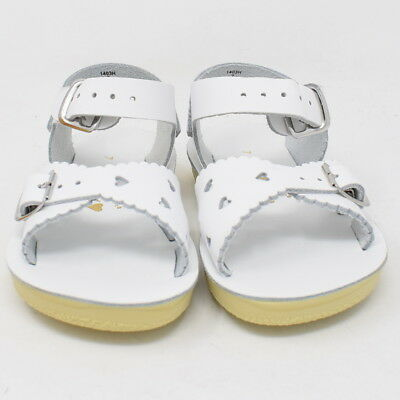New Hoy Shoes Sun San Toddler Kids Salt Water Sandals White Sweetheart 1403