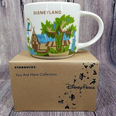 Disney Parks Disneyland Adventureland You Are Here Starbucks Mug YAH V3 2018