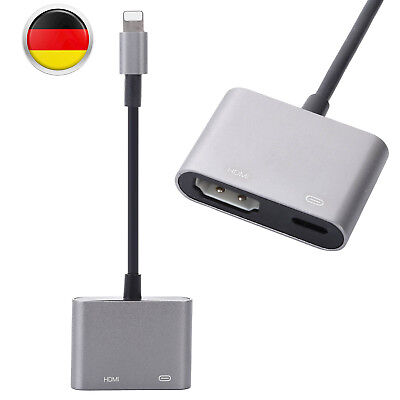 Lightning To HDMI Digital AV TV Cable Adapter For Apple iPad iPhone 6 6s 7 Plus