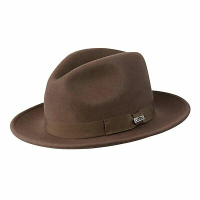 51927dfdc4af0 NEW CONNER MEN S CRUSHABLE Water Proof WOOL Aussie Cowboy Hat Brown ...
