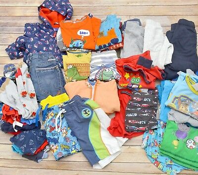 Massive boys clothes bundle,3-4 years, t-shirts,trousers,hoodies,jacket, over 80