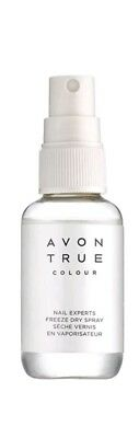 4 x Avon True Colour Nail Experts Freeze Dry Spray – 50ml
