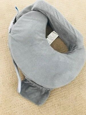 Pre-owned My Brest Friend Deluxe Nursing Pillow, Evening Grey
