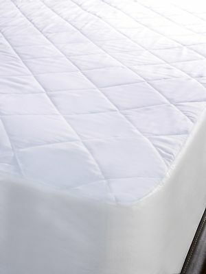 Luxury Quilted Anti-Allergy Mattress Protector Fitted Bed Cover Topper Single