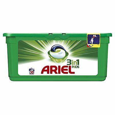 Ariel 3 in 1 Pods Regular Washing Tablets, 30 Washes
