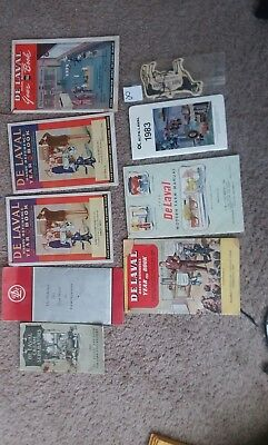 Delaval Handy Reference Year Books 1909-1981
