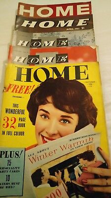 Home - Vintage Magazines 5 issues from 1950's and 1960's collectable retro