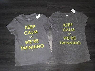 justice mommy & me twinning t-shirt set BRAND NEW