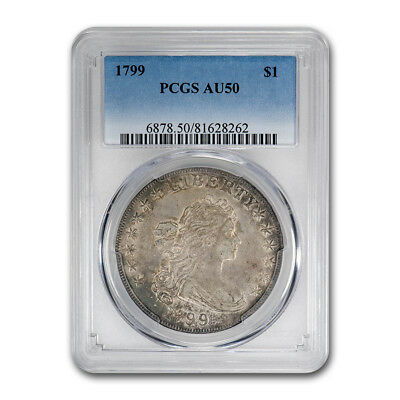 1799 Draped Bust Dollar AU-50 PCGS - SKU#161622