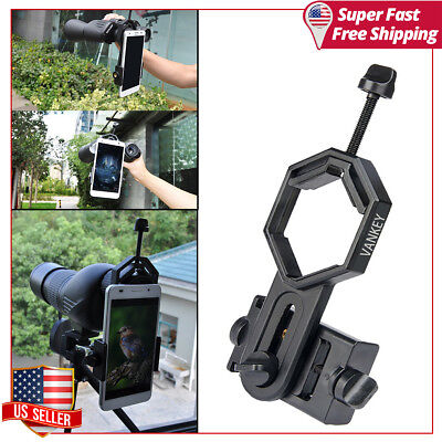 Smartphone Cell Phone Telescope Adapter Mount Holder For iPhone Samsung Gift