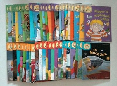 Oxford Reading Tree Biff Chip & Kipper Collection - 48 Books - Levels 1-6