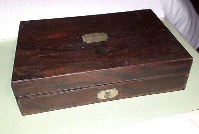 Vintage Handmade Wooden Drawing Utensil Tool/ Map Mounter Box By A.G.Russell