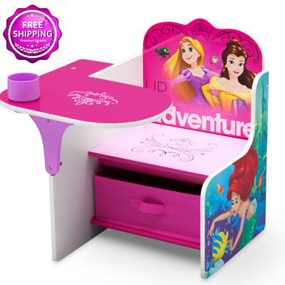 DISNEY TABLE Chairs Princess Activity Table Set Kids Children Play ...
