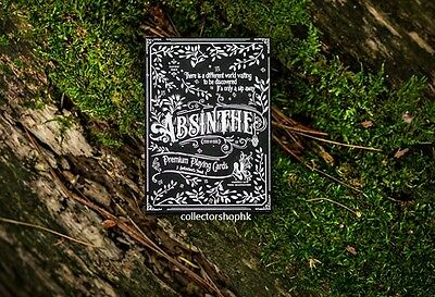 Ellusionist PROHIBITION Absinthe DECK V2 PLAYING CARDS Poker USPCC