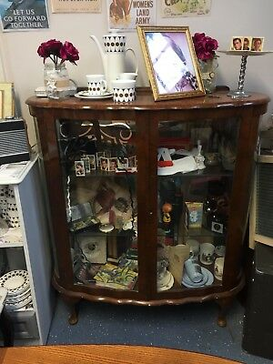 Vintage China Cabinet circa 1940's to 50s