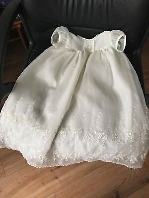 Vintage 1960s Baby Girl Christening Gown for Baby or Doll