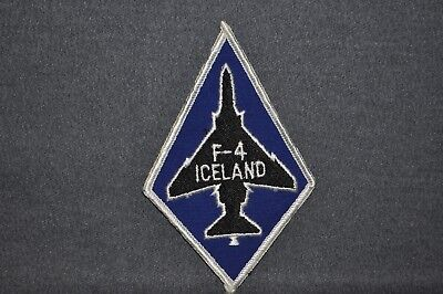 USAF/Military 57th FIGHTER INTERCEPTOR SQUADRON F-4 ICELAND  Patch