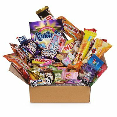55pc DAGASHI C MIX SWEETS GIFT BOX SWEET HAMPER CANDY BIRTHDAY TREATS KIDS PARTY