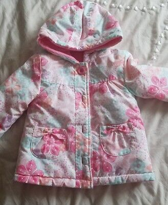 girls 9-12 mnth coat from george