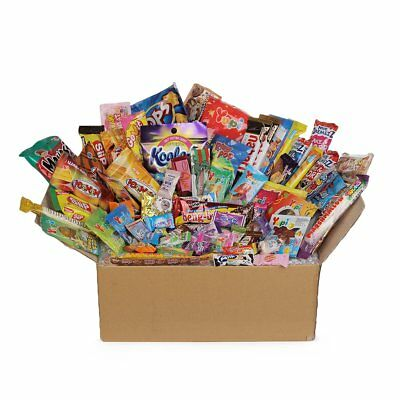 75pc DAGASHI C MIX SWEETS GIFT BOX SWEET HAMPER CANDY BIRTHDAY TREATS KIDS PARTY