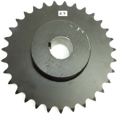 "MARTIN 80BS31 1-3/4"" BORE CHAIN SPROCKET, 31 Teeth, 2 Set Screws, 10-3/8"" OD"