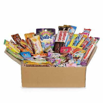 45pc DAGASHI C MIX SWEETS GIFT BOX SWEET HAMPER CANDY BIRTHDAY TREATS KIDS PARTY