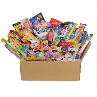 65pc DAGASHI C MIX SWEETS GIFT BOX SWEET HAMPER CANDY BIRTHDAY TREATS KIDS PARTY