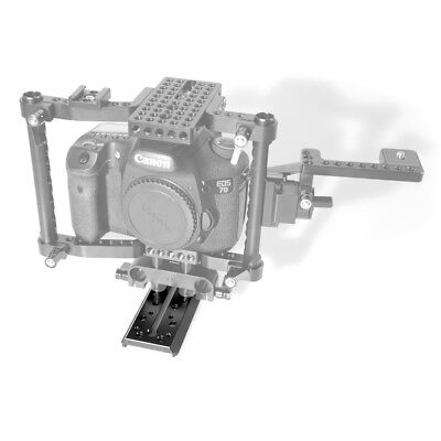 """SmallRig Manfrotto QR Plate with 1/4"""" 3/8"""" Screw for MVH500AH Tripod Head 1647"""