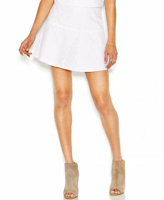 6beb7f5ef9 Rachel Rachel Roy Fit And Flare Burnout Skirt Womens Size 14 White