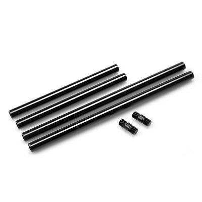 SMALLRIG 4pcs Extendable Aluminum 15mm Support Rods for Pro Camera Rigs