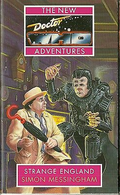 OOP Paperback Book - DOCTOR WHO - STRANGE ENGLAND - Simon Messingham - Virgin