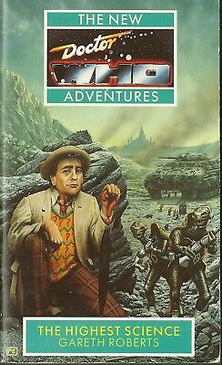 OOP Paperback Book - DOCTOR WHO - THE HIGHEST SCIENCE - Gareth Roberts - Virgin
